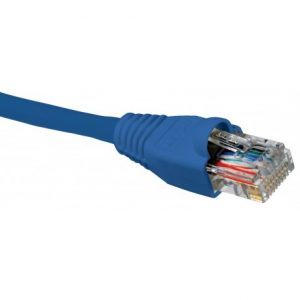 Nexxt - Cable de interconexion CAT5e 3ft azul